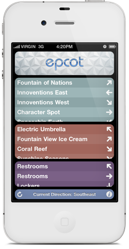 Magic map guide to disneyland and walt disney world for iphone a magical interactive guide for disney parks freerunsca Gallery